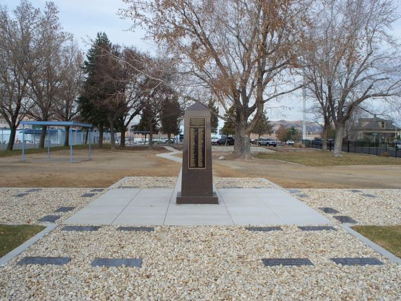 Nevada State Asylum memorial marker