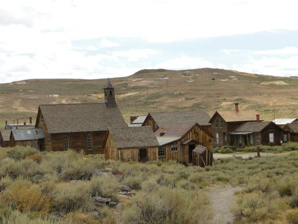 Bodie is one of the best-preserved ghost towns in the western USA.