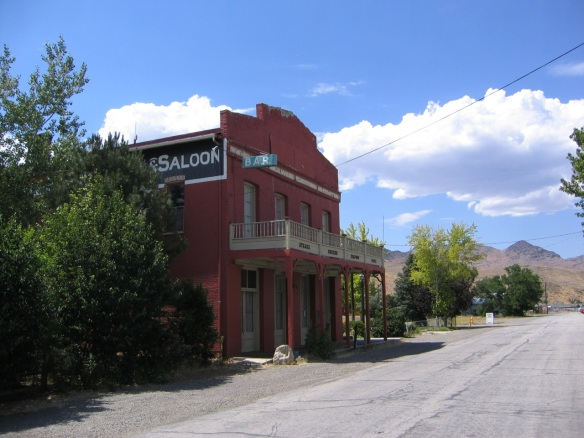 The Odeon Hall is a local treasure in historical downtown Dayton, Nevada.