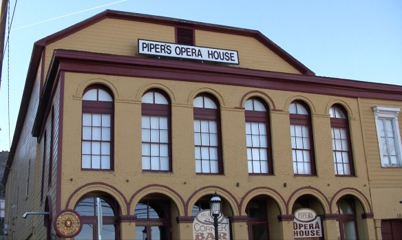 Piper's Opera House is a historical landmark in Virginia City, Nev.