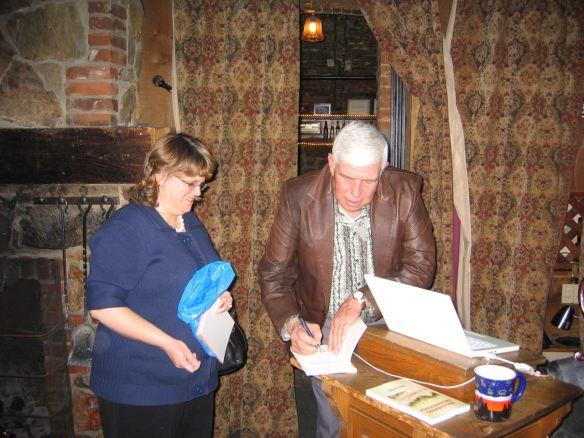 Dennis Cassinelli book-signing