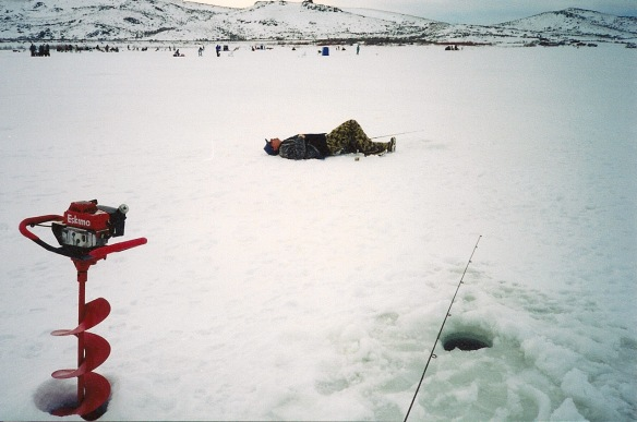 Ice Fishing in Nevada